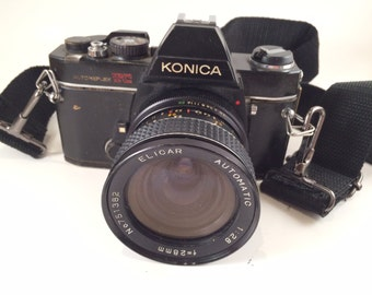 Konica Autoreflex TC 35mm Film Camera