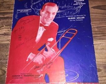 Five Pieces 1930s Era Sheet Music