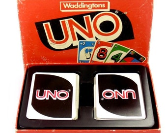 Uno Vintage Family Card Game from Waddingtons
