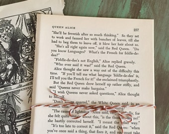 Fairy Tale Book Pages / 10 Vintage children's book pages Great for Journals, smash books, altered art mixed media, etc.