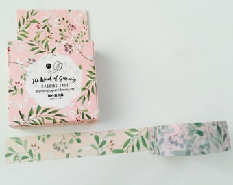 Berries and Leaves Boxed Washi Tape