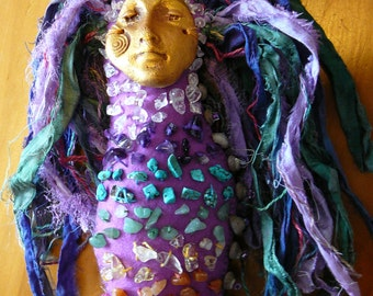 Chakra Doll, Spirit Doll, Medicine Doll, Healing Art Doll