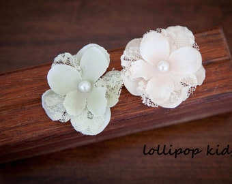Vintage Flower Hair Clips Baby Hair Clips Toddler Hair Clips Girls Hair Clips Flower Hair Clips Adult Hair Flowers