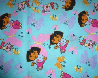 One Yard of Dora the Explorer Quilt Cotton Fabric by Viacom International