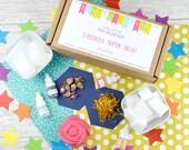 Soap Making Craft Kit, DIY Make your own Soap Kit, Personalised Craft kit
