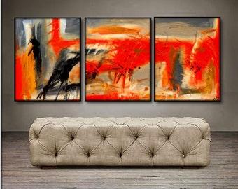 "Taking Flight- 48"" X 20"" Original Paintings . Free shipping within USA"