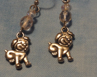 Adorable Puppy Earrings