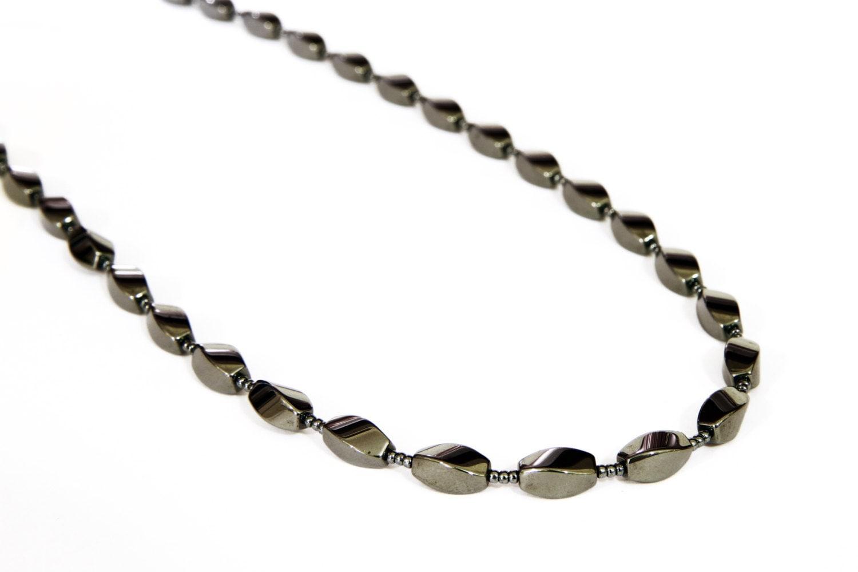 Hematite Long Necklace...