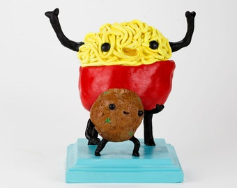 Spaghetti and Meatball Sculpture