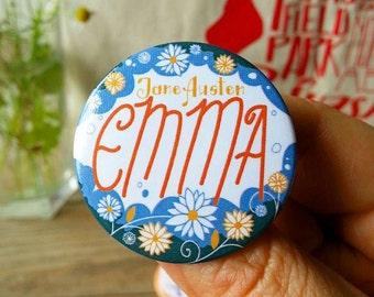Spilla illustrata dedicata a Emma di Jane Austen