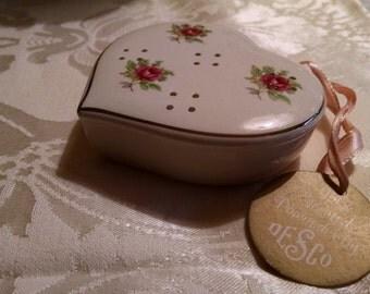 Ceramic Heart Pomander