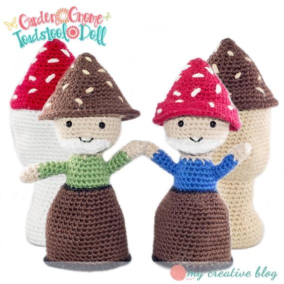 Amigurumi Crochet Garden Gnome Mushroom by thegingerhooker ...
