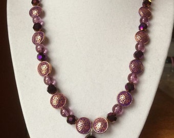 Purple Fusion Necklace