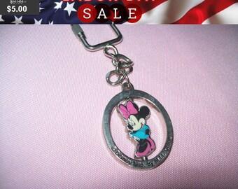SALE 50% Off Minnie mouse Disney key fob key chain