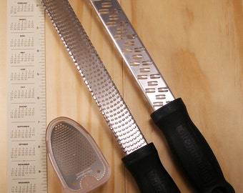 Set of 3 Zesters and Grater - - Microplane - Kitchen Tools
