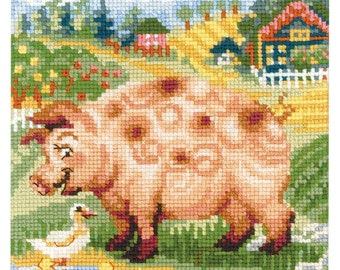 Pig - Counted Cross Stitch Kit