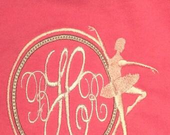 Monogrammed t shirt