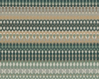 Dark Teal Woven Upholstery Fabric - Teal Taupe Fabric for Furniture - Custom Teal Taupe Pillow Covers - Taupe Upholstery Fabric by the Yard