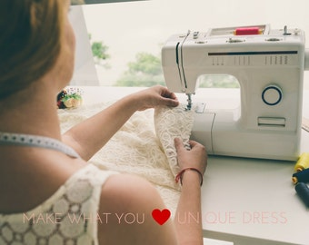Video course--- Make your Japanese style linen dress online