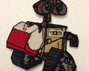 Iron On Patch Disney Inspired Fan Art Wall-E