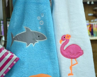 Appliquéd Beach Towels