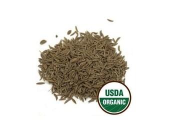 USDA Certified Organic Dried Whole Caraway Seeds Carum Carvi 1-16oz