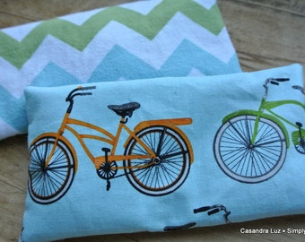 Soothing Eye Pillows (Set of Two) ~ Natural and Organic ~ Aromatherapy
