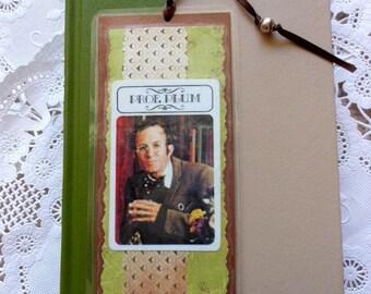 Professor Plum Vintage Clue Game Card Laminated Bookmark