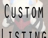 Custom Plushie: Tuxedo Mask