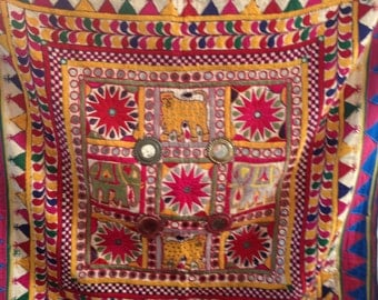 Vintage Indian Kutch Wall Hanging