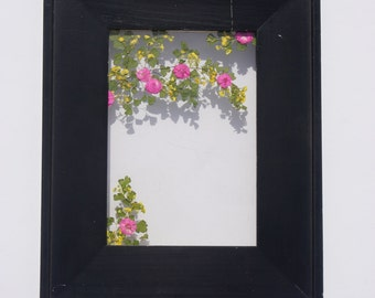 Cherry Blossom Double Sided Glass Botanical Art - 5x7