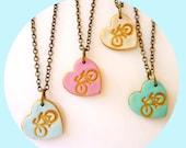 Bike heart Girl Necklace, I love Bike Necklace, Fun Girl Jewelry, 3,4,5,6,7,8,9, 10 years old birthday gift