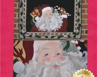 Jolly Old Santa Wall Quilt