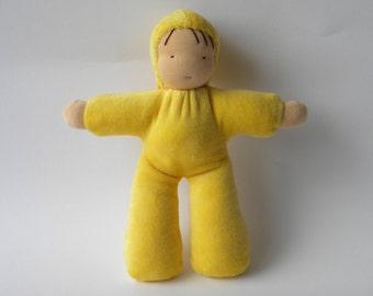 Sweet 12 inch cuddle doll waldorf style