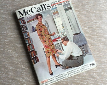 1970s Vintage McCall's Step-By-Step Sewing Book~How-To Guide