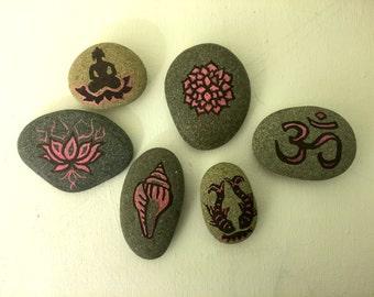 Buddha Sea Stones Magnets