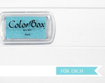 ?? Light blue - Aqua ink stamp pads