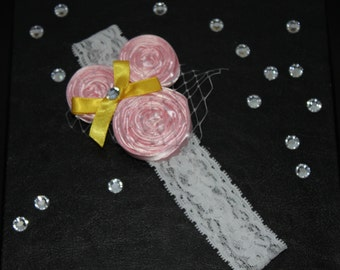 Mickey Mouse pink headband