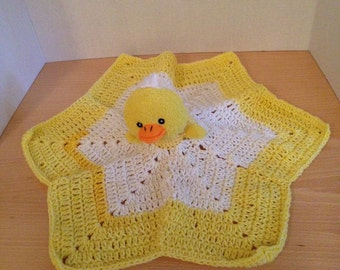 Crochet Duck Lovey