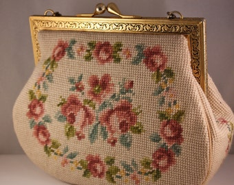 Vintage embroidery handbag Switkes