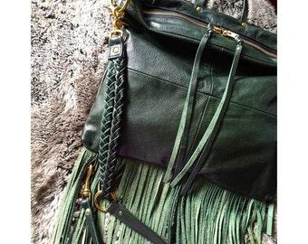 Senna bag/backpack in Evergreen
