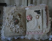 Antique Vintage Lace Needle Book Sewing Book Lace Book