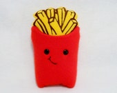 Plush happy french fries box