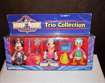 Vintage Arco Hollywood Mickey Trio Collection