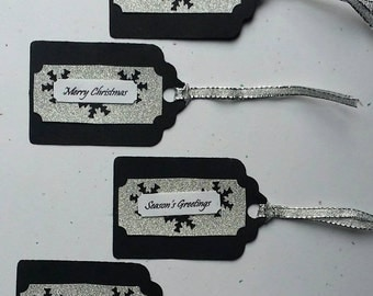 Christmas holiday gift tags 4pk
