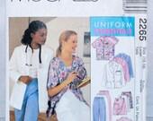 McCall's Uniform Pattern 2265- Size 16,18