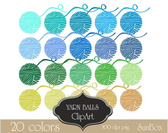 crochet yarn clipart - photo #31