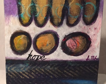 Original Mixed Media Artwork - Hope
