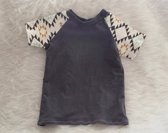 Raglan Top in Navajo