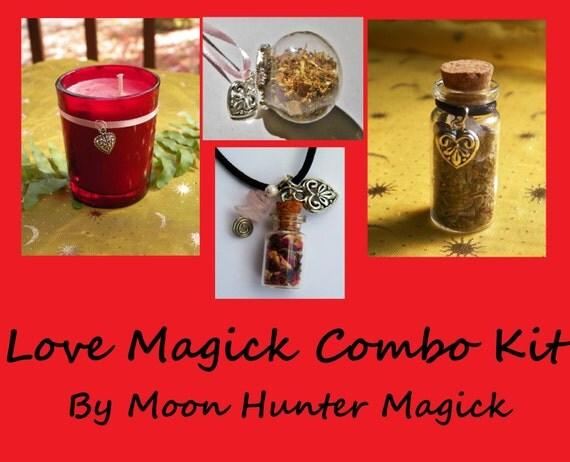 Love Magick Combo Kit Love Ritual Attraction Ritual Kit
